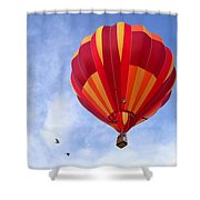 Soaring With The Birds Shower Curtain