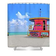 Sobe Lifeguard Shower Curtain