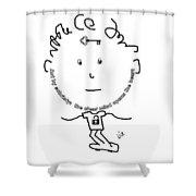 Sobriety Shower Curtain