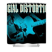 Social Distortion Shower Curtain