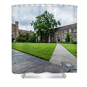 Sociology-psychology Building At Duke University Shower Curtain