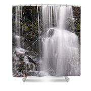 Soco Falls North Carolina Shower Curtain