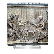 Socrates (c380-c450) Shower Curtain