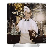 Soda Jerk, 1939 Shower Curtain