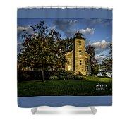 Sodus Point Big Lighthouse Shower Curtain