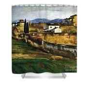 Soffici: Hill, 1922 Shower Curtain
