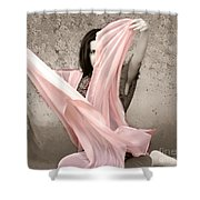 Soft And Sensual Shower Curtain
