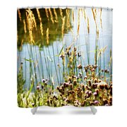 Soft And Surreal Shower Curtain