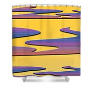 Soft Colors Shower Curtain