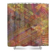 Soft Fantasia Shower Curtain
