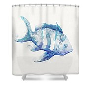 Soft Fish Shower Curtain