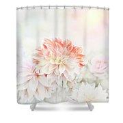 Soft Focus Floral Background Shower Curtain