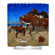 Soft Grand Piano Man Shower Curtain