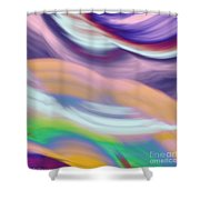 Soft Hues Shower Curtain