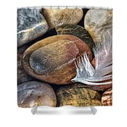 Soft Landing Shower Curtain