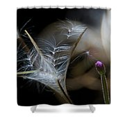 Soft Little Flowers Shower Curtain