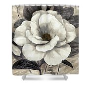 Soft Petals I Shower Curtain