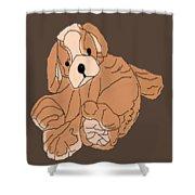 Soft Puppy Shower Curtain