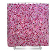 Soft Red Light  Shower Curtain