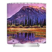 Soft Shades Of Reflections Shower Curtain