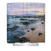 Soft Sunset Shower Curtain