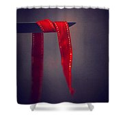 Soft Touch Of Ribbon Shower Curtain