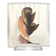 Soft Warmth Shower Curtain