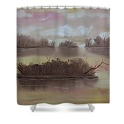 Softly Spoken Shower Curtain