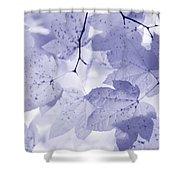 Softness Of Lavender Leaves Shower Curtain