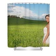 Sogno Toscana Shower Curtain