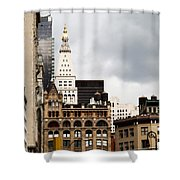 Sohmer Piano Building And Flatiron District  Shower Curtain