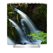 Sol Duc Falls 1 Shower Curtain