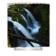 Sol Duc Falls 3 Shower Curtain