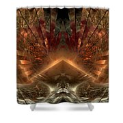 Sol Invictus Shower Curtain