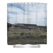 Solar Array Shower Curtain
