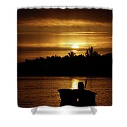 Solar Charged  Shower Curtain