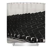 Solar City V2 Shower Curtain