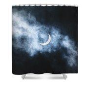 Solar Eclipse 2017 Shower Curtain by Jason Coward