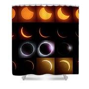 Solar Eclipse - August 21 2017 Shower Curtain