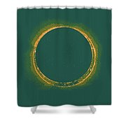Solar Eclipse By Hinode Observes, Nasa 4 Shower Curtain