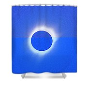 Solar Eclipse Of 2017 Poster 4 Shower Curtain