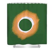 Solar Eclipse Poster 4 B Shower Curtain