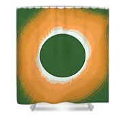 Solar Eclipse Poster 5 Shower Curtain