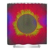 Solar Eclipse Spectrum 3 Shower Curtain