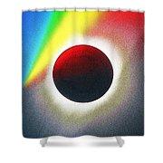 Solar Eclipse Spectrum  Of 2017 2 Shower Curtain
