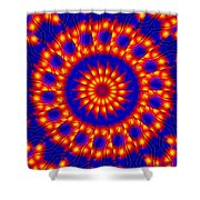 Solar Energy Shower Curtain