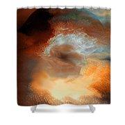 Solar Eruption Shower Curtain