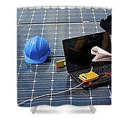 Solar Panels Melbourne,solar Panel Installation Melbourne Shower Curtain