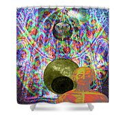 Solar Plexus Spirit Shower Curtain