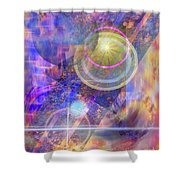 Solar Progression Shower Curtain